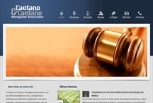 Caetano & Caetano: Website criado pela ALDABRA