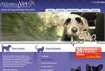 Centro Vet: Website criado pela ALDABRA