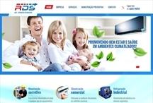 RDS Ar Condicionado: Website criado pela ALDABRA