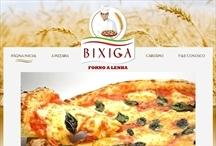 Bixiga Pizzaria: Website criado pela ALDABRA