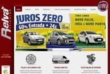 Relva Veículos: Website criado pela ALDABRA