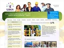 Acole: Website criado pela ALDABRA