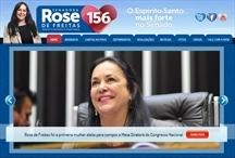 Senadora Rose de Freitas: Website criado pela ALDABRA