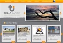 Tinho Imobiliária: Website criado pela ALDABRA
