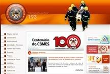 Corpo de Bombeiros - ES: Website criado pela ALDABRA