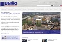 União Engenharia: Website criado pela ALDABRA