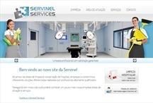 Servinel - Services: Website criado pela ALDABRA