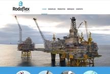 Rodoflex offshore: Website criado pela ALDABRA
