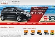 Autochix - Chery: Website criado pela ALDABRA