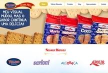 Villoni Alimentos: Website criado pela ALDABRA