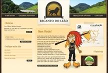 Recanto do Leão: Website criado pela ALDABRA
