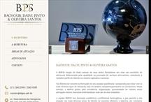 BDPOS - Advogados Associados: Website criado pela ALDABRA