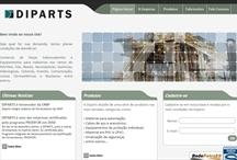 Diparts: Website criado pela ALDABRA