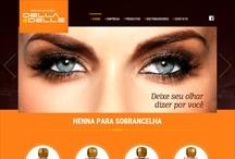 Henna Della & Delle: Website criado pela ALDABRA