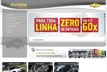 Pianna Veículos: Website criado pela ALDABRA