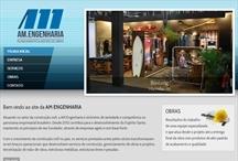 AM Engenharia: Website criado pela ALDABRA