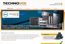 Technovix: Website criado pela ALDABRA