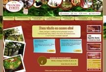 Rancho Forte: Website criado pela ALDABRA