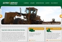 Extra Service: Website criado pela ALDABRA