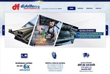 Distriferro: Website criado pela ALDABRA