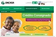 Dacasa: Website criado pela ALDABRA