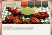 Restaurante Dematte: Website criado pela ALDABRA