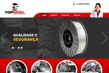 Topsteel: Website criado pela ALDABRA