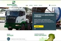 Superior Transportes: Website criado pela ALDABRA