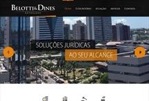 Belotti e Dines: Website criado pela ALDABRA