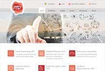 MD Sistemas - Senior ES: Website criado pela ALDABRA