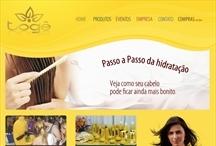 Toge: Website criado pela ALDABRA