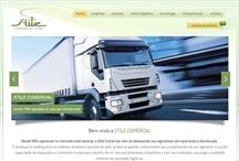 Stile Comercial: Website criado pela ALDABRA