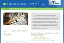 A Tribuna na Escola: Website criado pela ALDABRA