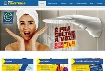 Rede Construir ES: Website criado pela ALDABRA