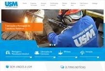 USM: Website criado pela ALDABRA