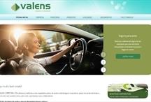 Valens Corretora: Website criado pela ALDABRA