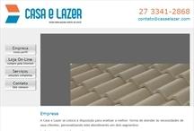 Casa e Lazer: Website criado pela ALDABRA
