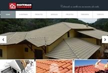 Telhados Hoffman: Website criado pela ALDABRA