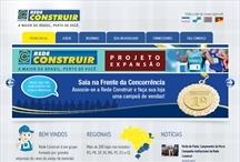 Rede Construir: Website criado pela ALDABRA