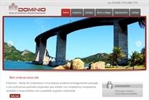Domínio Condomínios: Website criado pela ALDABRA