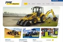 PME Máquians: Website criado pela ALDABRA