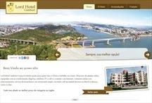 Hotel Lord Camburi: Website criado pela ALDABRA