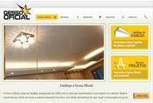 Gesso Oficial: Website criado pela ALDABRA
