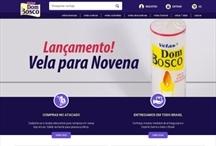 Velas Dom Bosco: Website criado pela ALDABRA