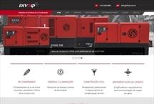 Diveq: Website criado pela ALDABRA