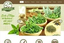 Natural Ervas: Website criado pela ALDABRA