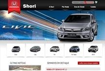 Honda Shori: Website criado pela ALDABRA