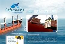 Safemarine: Website criado pela ALDABRA
