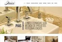 Itaici Marmores: Website criado pela ALDABRA
