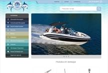 Marine Center: Website criado pela ALDABRA
